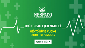 nesfaco nghỉ lễ